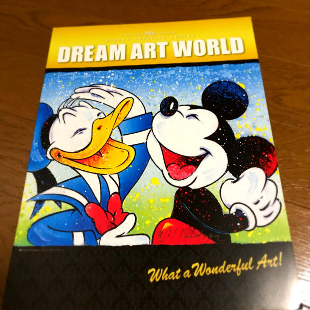 Disney(ディズニー)のDISNEY ドリームアートワールド2017 非売品パンフレット エンタメ/ホビーの本(その他)の商品写真