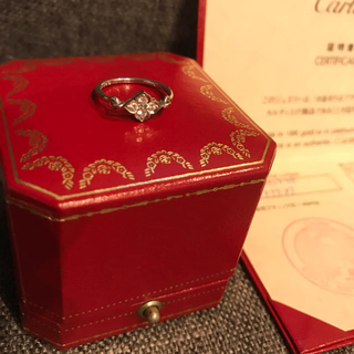 カルティエ(Cartier)のみのりんこ様 専用カルティエ ヒンドゥ  ダイヤモンド リング   シャネル(リング(指輪))