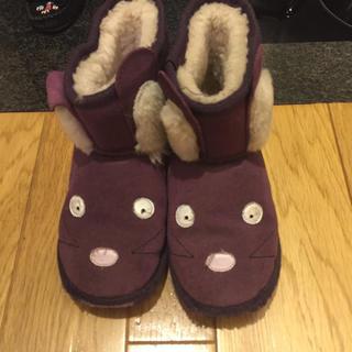 アグ(UGG)のリロちゃん様専用ページEMUキッズ18センチ美品(ブーツ)