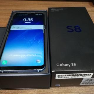 サムスン(SAMSUNG)のGalaxy S8 SC-02J 制限〇 SIMロック解除済み 保証約1年あり(スマートフォン本体)