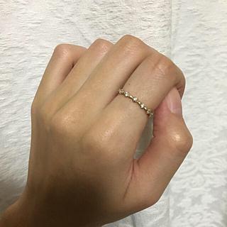 エテ(ete)のete ダイヤ K10 リング(リング(指輪))