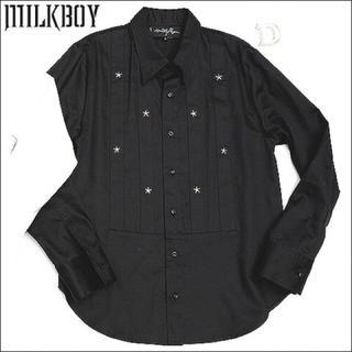 ミルクボーイ(MILKBOY)のMILKBOY○STUDS DRESS SHIRTS スタッズドレスシャツ(シャツ)