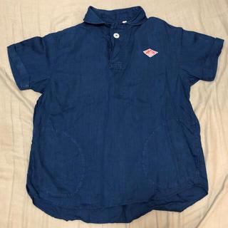 ダントン(DANTON)のDANTON シャンブレー プルオーバーシャツ(シャツ/ブラウス(半袖/袖なし))