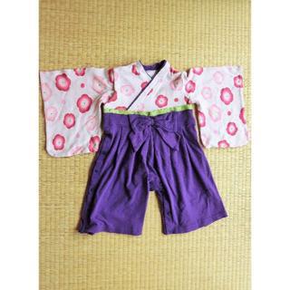 ベルメゾン(ベルメゾン)の袴風カバーオール90/ベルメゾン(和服/着物)