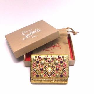 クリスチャンルブタン(Christian Louboutin)のクリスチャンルブタン マカロン フラップ ミニ財布(財布)