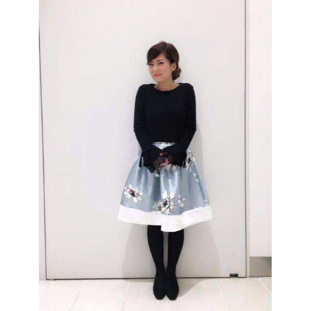 tocco(トッコ)のtocco♡袖レースフレアニット♡ピンク♡トッコ レディースのトップス(ニット/セーター)の商品写真