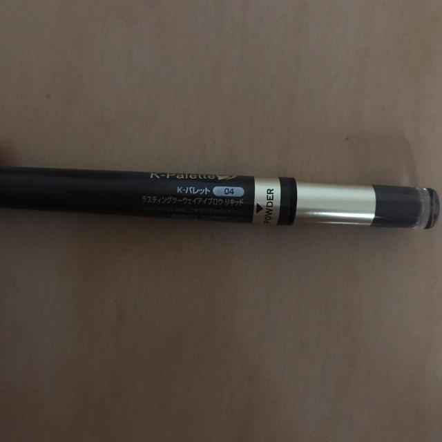 K-Palette(ケーパレット)の未使用新品 K-パレット ラスティングツーウェイアイブロウ リキッド コスメ/美容のベースメイク/化粧品(その他)の商品写真