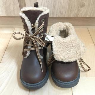 ベビーギャップ(babyGAP)の新品 GAP 2way ブーツ ムートン 茶色 14(ブーツ)