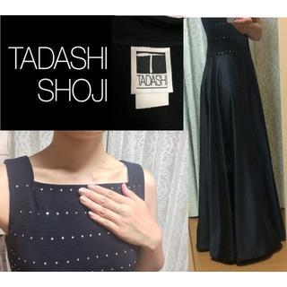 【美品♡】TADASHI SHOJI パーティードレス ロング*Lサイズ(ロングドレス)