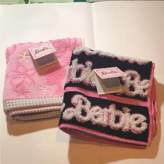 バービー(Barbie)のハンカチタオル(タオル/バス用品)