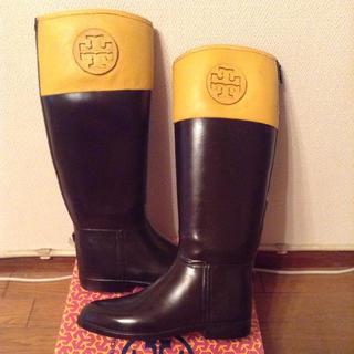 トリーバーチ(Tory Burch)のトリーバーチ レインブーツ サイズ9(レインブーツ/長靴)