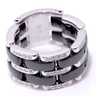 シャネル(CHANEL)のCHANEL シャネル ウルトラリング K18WG(リング(指輪))