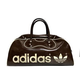 アディダス(adidas)のアディダス エナメル ボストンバッグ ヴィンテージ ビンテージ 三つ葉 80s(ボストンバッグ)