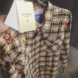 ハーフマン(HALFMAN)のHALFMAN (ハーフマン)  アルファベット タータンチェック シャツ(シャツ)