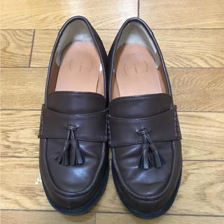 ハコ(haco!)のタッセルローファー(ローファー/革靴)