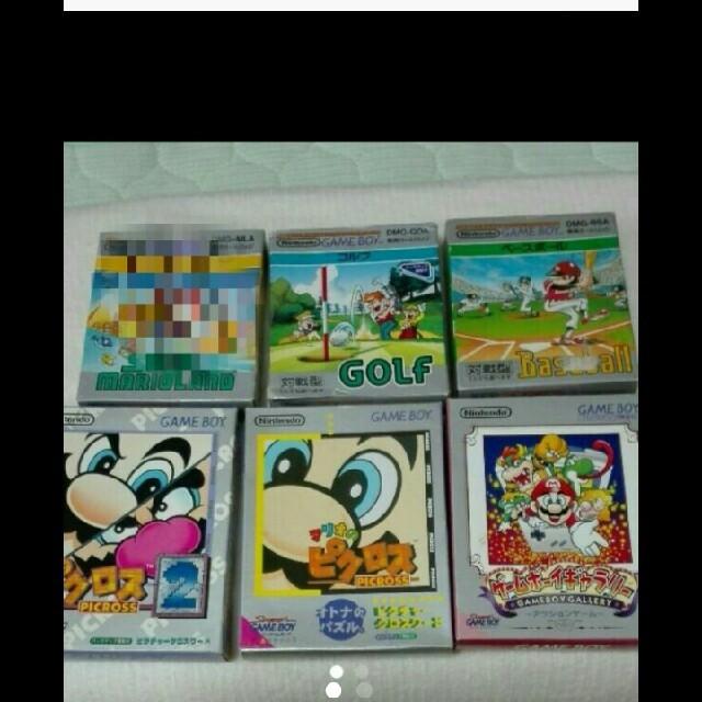 任天堂(ニンテンドウ)のゲームボーイソフト エンタメ/ホビーのテレビゲーム(携帯用ゲームソフト)の商品写真