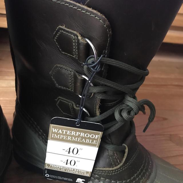 SOREL(ソレル)のSOREL☆ソレル ブーツ☆グリーン/25cm 防水・雪対応 メンズの靴/シューズ(ブーツ)の商品写真