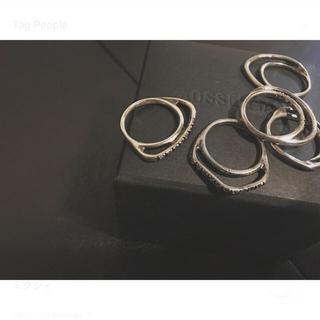 イオッセリアーニ(IOSSELLIANI)のIOSSELLIANI Classic Collection 5連リング(リング(指輪))