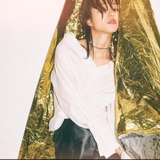 エンフォルド(ENFOLD)の美品@ciroiレイジーシャツ(シャツ/ブラウス(長袖/七分))