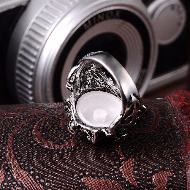 悪魔のリング 赤 18号 レディースのアクセサリー(リング(指輪))の商品写真