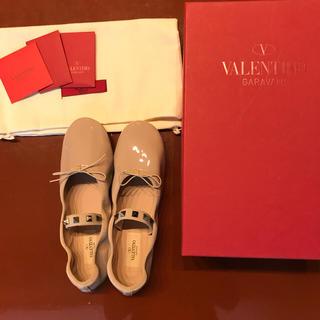 ヴァレンティノガラヴァーニ(valentino garavani)のVALENTINO バレエシューズ 新品未使用(バレエシューズ)