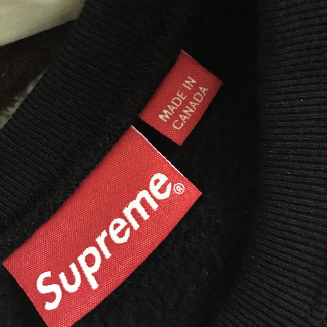 Supreme(シュプリーム)のVertical Logo Panel Crewneck  メンズのトップス(スウェット)の商品写真