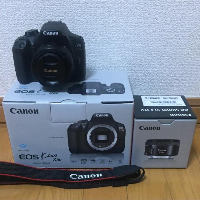 Canon(キヤノン)のCanon 一眼レフ スマホ/家電/カメラのカメラ(デジタル一眼)の商品写真