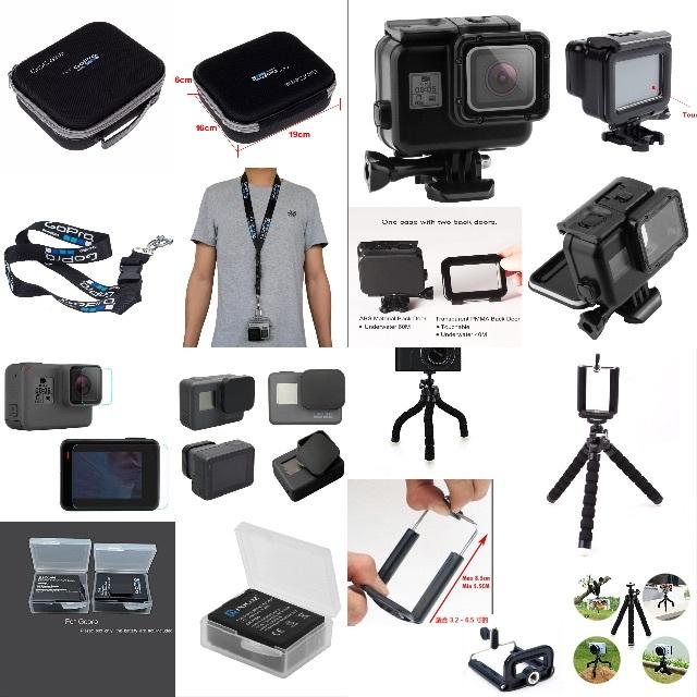 GoPro(ゴープロ)の新品 GoPro アクションカメラ HERO 5 Black CHDHX-502 スマホ/家電/カメラのカメラ(コンパクトデジタルカメラ)の商品写真