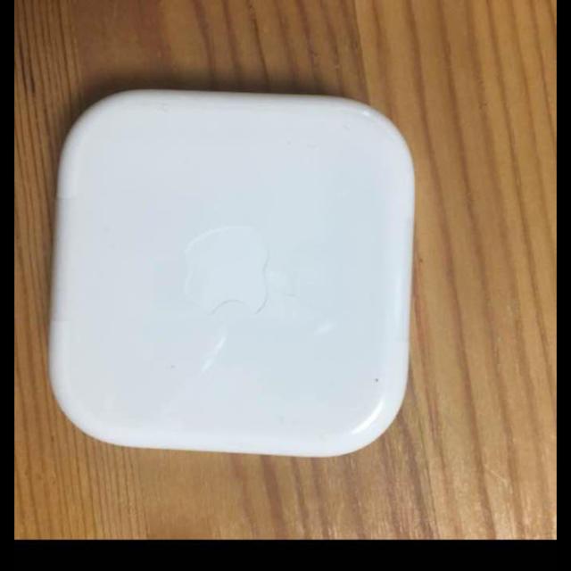 Apple(アップル)のiPhone6に付属していたイヤホン   純正 新品 スマホ/家電/カメラのオーディオ機器(ヘッドフォン/イヤフォン)の商品写真