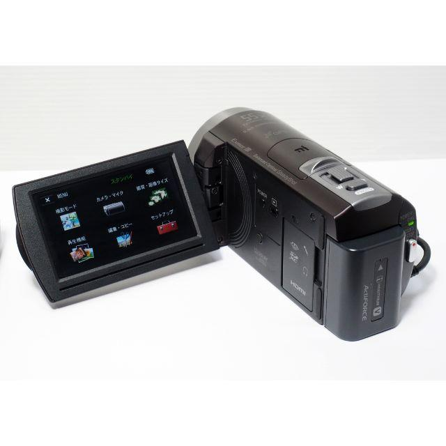 SONY(ソニー)の〓美品〓SONY ソニー ハンディカム HDR-CX430V ビデオカメラ  スマホ/家電/カメラのカメラ(ビデオカメラ)の商品写真
