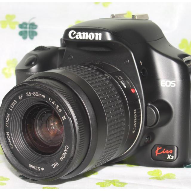 Canon(キヤノン)のCanon EOS X3レンズキット スマホ/家電/カメラのカメラ(デジタル一眼)の商品写真