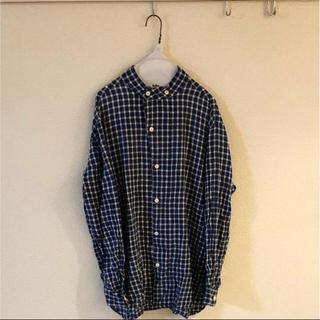 ネストローブ(nest Robe)のHAVERSACK ハバーサック ノーカラーシャツ L(シャツ)