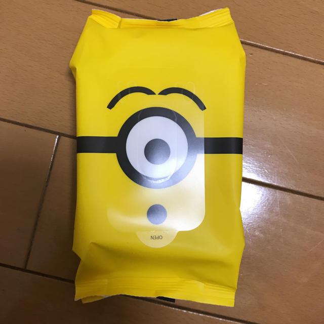 ミニオン(ミニオン)のミニオン ウェットティッシュ エンタメ/ホビーのおもちゃ/ぬいぐるみ(キャラクターグッズ)の商品写真