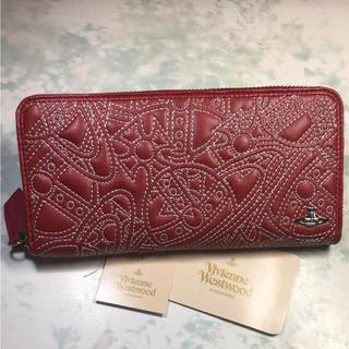 ヴィヴィアンウエストウッド(Vivienne Westwood)のVivienne Westwood  長財布 キルティング ヴィヴィアン オーブ(財布)