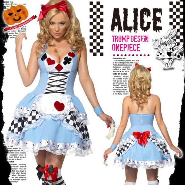Disney(ディズニー)のハロウィン近い‼️急げ‼️‼️不思議の国のアリス エンタメ/ホビーのコスプレ(衣装)の商品写真