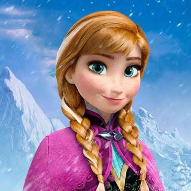 Disney(ディズニー)のアナ雪 アナのウィッグ エンタメ/ホビーのコスプレ(ウィッグ)の商品写真
