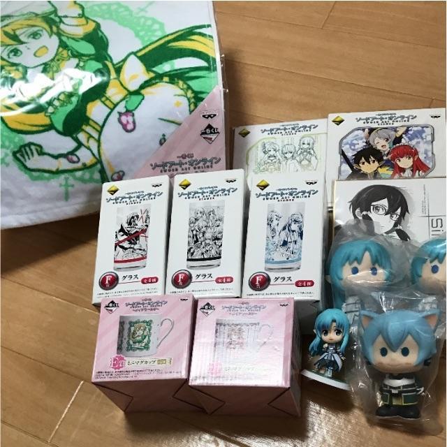 ソードアート・オンライン まとめ売り エンタメ/ホビーのアニメグッズ(ストラップ)の商品写真