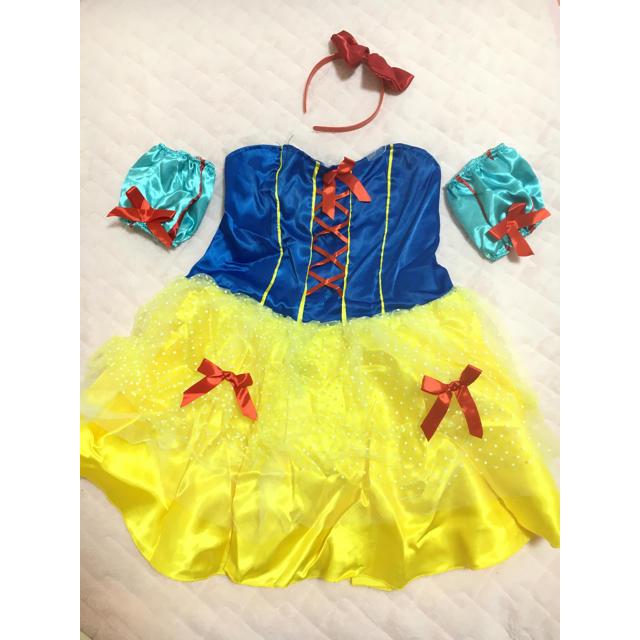 白雪姫コスプレ エンタメ/ホビーのコスプレ(衣装一式)の商品写真