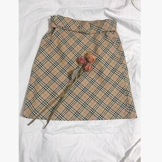 ロキエ(Lochie)のBurberry スカート(ひざ丈スカート)