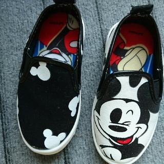 ディズニー(Disney)の新品 ミッキースリッポン(スリッポン)
