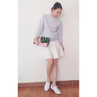 バーニーズニューヨーク(BARNEYS NEW YORK)の極美品 ✳︎ 定価2.4万maririnmoon バーニーズ スカート(ひざ丈スカート)