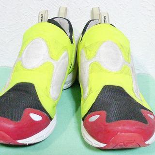 リーボック(Reebok)のリーボック インスタ ポンプフューリー2 pump fury 2 赤黄 29cm(スニーカー)