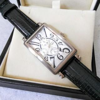 テクノス(TECHNOS)の美品 SWISS TECHNOS クロノグラフ レディース ボーイズサイズ(腕時計)