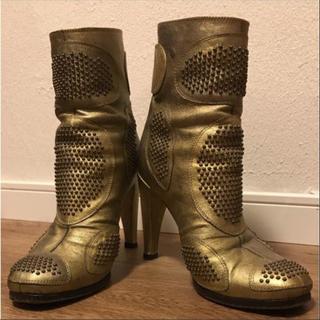 ジャンニバルバート(GINNNI BARBATO)のジャンニバルバート ショートブーツ(ブーツ)