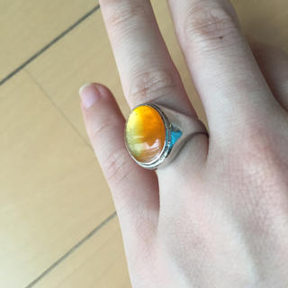 ビタミンカラーのポップな指輪💍(リング(指輪))