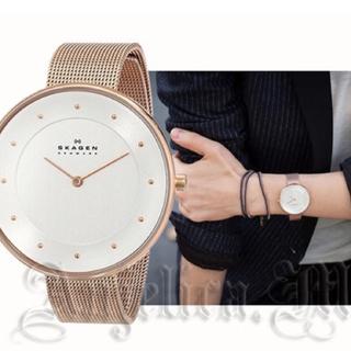 スカーゲン(SKAGEN)のSKAGEN/ゴールド時計(腕時計)