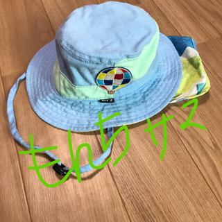 ビッツ(Bit'z)の日よけハット52センチ ブルーのみ専用ページです!(帽子)