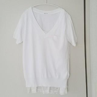 サカイラック(sacai luck)のVネックTシャツ sacai luck(Tシャツ(半袖/袖なし))