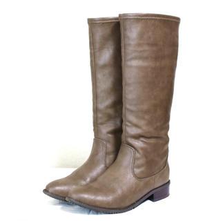ベルメゾン(ベルメゾン)のBELLE MAISON DAYS◆ロングブーツ ブラウン 23.5cm 美品(ブーツ)