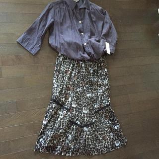 インテレクション(INTELECTION)のロングスカートとシャツのセット(ロングスカート)